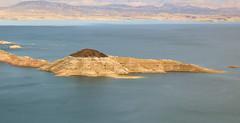 Rock Island (wyojones) Tags: arizona lake water island nevada boulder reservoir lakemead coloradoriver np waterlevel nationalparksystem wyojones lakemeadnationalrcreationarea