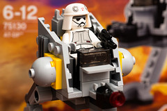 Star Wars Lego- AT-DP, Set 75130 (Andrew D2010) Tags: starwars fighter lego mini walker micro atdp minifigures series3 75130 microfighters set75130