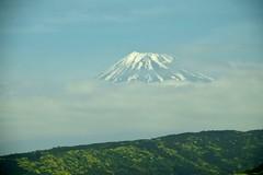 Mount Fuji (rodliam) Tags: train mountfuji shinkansen nozomi n700
