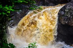 Cascade Falls State Park || Summer 2014 (manaelm1) Tags: statepark nature minnesota outdoors hiking greatlakes waterfalls northshore lakesuperior cascadefalls