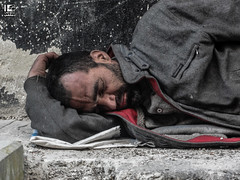 Surrounded by poverty (Take a look on Syria without propaganda) Tags: poverty people man cute eye sc beautiful beauty look childhood danger children happy hope freedom dangerous education child humanity outdoor sleep south innocent hard free story human rights revolution future innocence learning syria schoolchildren damascus generation learn pupil regime siege pupils syrian assad pleased  revo schoolchild