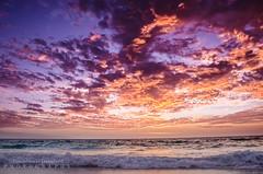 Beautiful Sunsets (JamieMarie Oaksford) Tags: ocean sea seascape nature clouds skyscape landscape sand australia wa westernaustralia waterwater landscae seawater beautifulnature oceanscape beautifulcolours jindalee beachesofaustralia beachphotogrpahy jindaleebeach