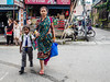(milan syangbo) Tags: street nepal colour eyecontact colorful walk candid mother streetphotography son streetphoto nepalese sari candidshot colourphotography 17mm dharan olympusomdem10
