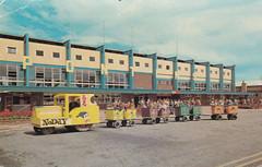 Pontins Prestatyn Holiday Camp - 1970s postcard (trainsandstuff) Tags: vintage postcard pontins prestatyn holidaycamp noddytrain