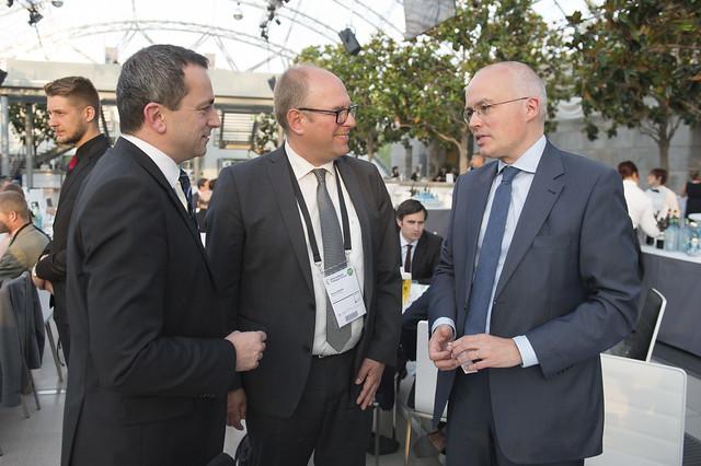 Martin Russ, Martin Boehm and Michael Bültmann network