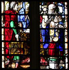 Presentation in the Temple (English glass, 16th Century) (Simon_K) Tags: cambridge college university chapel stainedglass tudor kings cambridgeshire eastanglia 16thcentury cambs