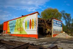 The Lanes or Bowl (JeffStewartPhotos) Tags: toronto ontario canada demolish closed demolition vacant condos bowlingalley condominiums nomore wrecking unused eastyork comingdown oconnordrive beingtorndown oconnorbowl makingwayforcondos makingwayforcondominiums