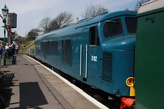D182 Swanage (daveymills31294) Tags: diesel railway class gala swanage 46 2016 46045 d182