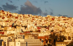 Tétouan Dersa (Yassine Abbadi) Tags: sun reflection buildings dawn morocco maroc yallow dersa tetuan tetouan