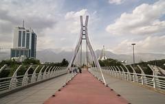 Tabiat Bridge (Martin Tsvetkov) Tags: city travel panorama snow tower architecture landscape photography view iran prayer palace tehran milad shah azadi golestan
