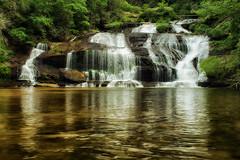 Panther Creek Falls (drazanm) Tags: trees green nature creek river landscape waterfall spring rocks nopeople serene swimhole