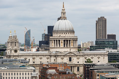 St. Paul's Cathedral (Mikepaws) Tags: city uk greatbritain england urban building london church skyline architecture landscape europe cityscape cathedral unitedkingdom britain capital towers landmark panoramic southbank dome historical christopherwren stpaulscathedral viewpoint citycentre cityoflondon centrallondon squaremile greaterlondon