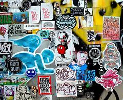 stickers (wojofoto) Tags: holland amsterdam stickerart stickers nederland netherland ndsm wojo wolfgangjosten wojofoto