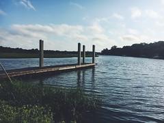 Waiting.... (AppStateJay) Tags: morning sc creek marina mt south calm mount carolina pleasant shem 2016