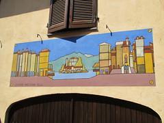 """Legro """"Paese dipinto"""" (frank28883) Tags: piemonte murales novara muridipinti ortasangiulio ortalake legro mariosoldati lacdorta paesedipinto"""