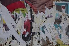 Budejovice, Budweis (Harald Reichmann) Tags: collage poster tschechien info muster vernderung stadtbild budejovice dynamik budweis ankndigung alltagskunst