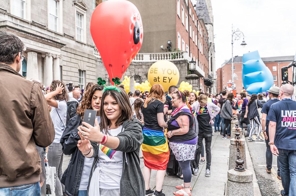 PRIDE PARADE AND FESTIVAL [DUBLIN 2016]-117982