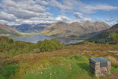 Sisters.... (Harleynik Rides Again.) Tags: mountains landscape scotland highlands glenelg kintail mamrataganpass
