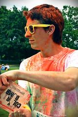 RAD (Miaouva) Tags: rad color color colormerad vincent boy nantes colorbomb orange photograhie homme profil
