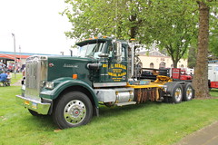 ATHS National 2016 (409) (RyanP77) Tags: aths national salem oregon log truck logger mack kenworth peterbilt frieghtliner internationaltruck semi pete rig diamon t 359 379 b model coe cabover trucking trucker rigs chrome show classy autocar bubblenose whitlog antique historical association