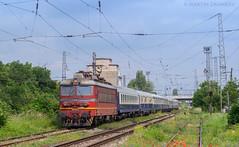 Nostalgy train (Radler.z) Tags: train sofia locomotive skoda nostalgy 17292 bdz 44121 68e poduyane