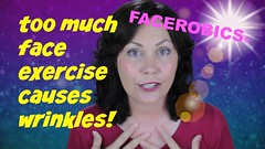 Face Exercise - Too Much Facial Exercise Can Cause Wrinkles! - FACEROBICS (raza.navaid) Tags: faceexercise faceaerobics facerobics wrinkles facialexercise yogaforface faceyoga facetoning bestfaceexercise exerciseforface fatface shapeface antiaging facelines exercisefacemuscles skinwrinkles eyewrinkles neckwrinkles facewrinkles preventwrinkles wrinklesonface facialexercises toomuchexercise facialexercisesforwrinkles faceexercisesforwrinkles renewmefacialexercises facialexercisestolookyounger