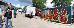 The Loods Graffiti Jam '16 (jesus_on_a_x) Tags: graffiti rotterdam graff roosendaal