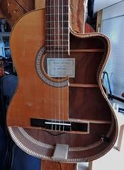 A Guitar Exposed (mikecogh) Tags: berlin kreuzberg open guitar hollow exposed cutaway revealed