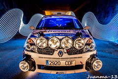 Rally cosmico (jmrobles_13) Tags: car luces rally tunel largaexposicion ligthpainting fotografianocturna