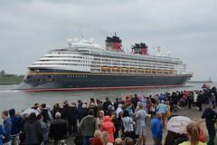 Passed us by (quintinsmith_ip) Tags: sea people river fun ship down tourist disney passenger passing shipping southshields waltdisney disneymagic rivertyne