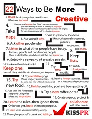 22 Ways to Be Creative (agneszang) Tags: creativity creative tips be ways