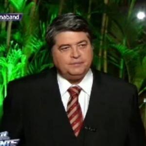"""Datena interrompe """"Brasil Urgente"""" e reclama de barulho na Redação"""