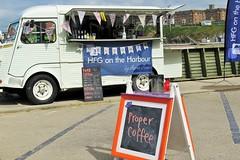 a coffee, please (akaceweha) Tags: england cornwall britain cost kaffee kste coffie