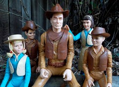 Happy Father's Day (atjoe1972) Tags: family west vintage toys actionfigure cowboy dad day jay jamie janice father josie retro marx fathersday seventies wildwest sixties frontier oldwest johnnywest atjoe1972