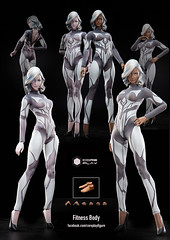 COREPLAY CP-4101-02 Fitness Bodies - 08 (Lord Dragon 龍王爺) Tags: hot female toys actionfigure doll onesixthscale 16scale 12inscale coreplay
