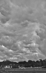 Agitated, roiling clouds (stevelamb007) Tags: bw cloud monochrome weather clouds nikon turbulence agitated roiling stevelamb d7200
