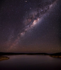 Milky Way over Canning Reservoir (inefekt69) Tags: road nightphotography trees sky water night rural way stars landscape nikon long exposure outdoor dam space great australia reservoir tokina southern galaxy astrophotography perth astronomy dslr milky 11mm cosmos westernaustralia core canning cosmology galactic southernhemisphere rift 1116mm d5100