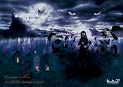 Dark lady (Ral Teruel Diez) Tags: castle illustration dark darkness cementerio fantasy fantasia raul fotografia castillo teruel ilustracion cementery oscuridad oscura diez darkbeauty outlawdesigner raulterueldiez