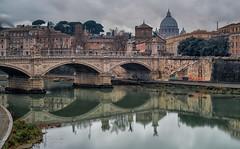 Puente Vittorio Emanuele II - Rome (bervaz) Tags: italy rome roma rio river italia sony vaticano sanpietro reflejos 2470mm imperioromano variotessar variotessart sonyvariotessartfe2470mmf4zaoss ilce7r2
