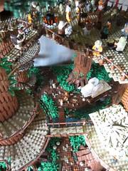 Ewokdorf - Blick nach unten 01 (KW_Vauban) Tags: starwars lego endor ewokvillage episodevi thereturnofthejedi