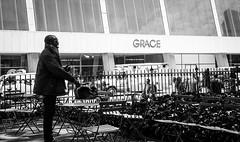 Grace (GrandWaz) Tags: street newyork park silhouette bw 50club