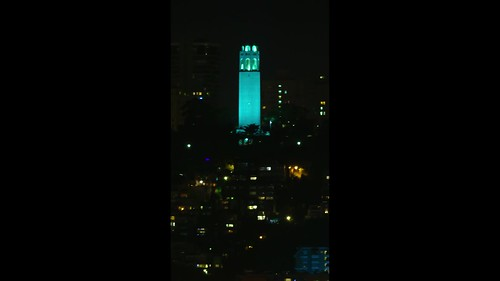 Coit Tower - Colors