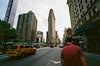 41840012 (alexdotbarber) Tags: 1125 35mm c41 flatironbuilding kodakektar100 nyc newyorkcity vigtlanderbessar3a voigtlandersuperwideheliar15mmf45 analog colornegative f11 film rangefinder