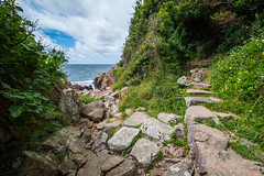 Mysterious island (Passe-) Tags: island mysterious mystic spot nature awesome see sea water ocean stone stones rocks path waves landscape landscapes kullen kullaberg skne sverige sweden