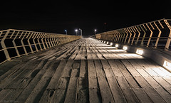 Converging lines on Lorne Pier (Ralph Green) Tags: longexposure lines night australia victoria lorne converginglines lornepier