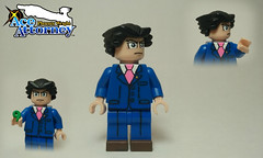 LEGO Ace Attorney: Phoenix Wright (JSparkysteel) Tags: game phoenix video lego ds wright custom jsparkysteel