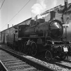 Locomotiva gruppo 545 (Ferrovie dello Stato Italiane) Tags: locomotive stazione treno treni ferrovie locomotiva