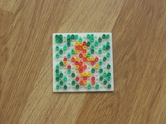 hellocatfood - T (hellocatfood) Tags: animation alphabet hamabeads hellocatfood