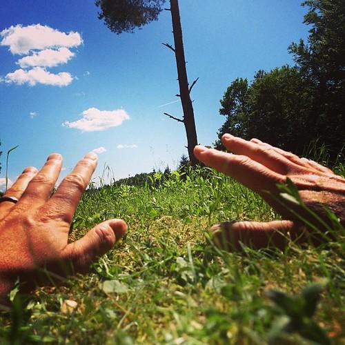 Paus i solen #hemomkring #fårdugaväder #soffjobbare