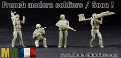 French modern soldiers / Soon in Model-Miniature shop ! (Model-Miniature) Tags: french war afghan soldiers g2 uav guerre franais famas drac malie drone fusil soldats malian lunesse
